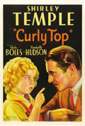 "Movie Posters:Musical, Curly Top (Fox, 1935). One Sheet (27"" X 41"") Style A. ..."