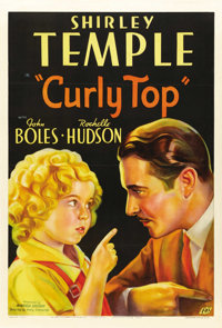 "Curly Top (Fox, 1935). One Sheet (27"" X 41"") Style A"