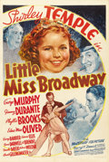 "Movie Posters:Musical, Little Miss Broadway (20th Century Fox, 1938). One Sheet (27"" X41"") Style B. ..."