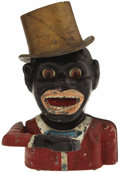 "Antiques:Toys, ""Jolly Nigger"" High Hat Mechanical Bank..."