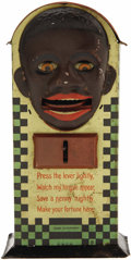Antiques:Black Americana, Minstrel Mechanical Bank...