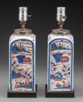 Asian:Japanese, A Pair of Japanese Imari Porcelain Vases Mounted as Lamps, 20thcentury. 9 inches high (22.9 cm) (excluding mounts). ... (Total: 2Items)