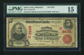 National Bank Notes:Missouri, Saint Louis, MO - $5 1902 Red Seal Fr. 589 The Central NB Ch. #(M)8455. ...