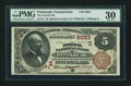 National Bank Notes:Pennsylvania, Pittsburgh, PA - $5 1882 Brown Back Fr. 477 The Federal NB Ch. #(E)6023. ...
