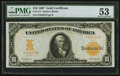Large Size:Gold Certificates, Fr. 1171 $10 1907 Gold Certificate PMG About Uncirculated 53.. ...