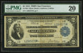 Fr. 780 $2 1918 Federal Reserve Bank Note PMG Very Fine 20