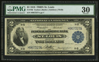 Fr. 768 $2 1918 Federal Reserve Bank Note PMG Very Fine 30