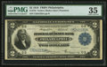 Fr. 754 $2 1918 Federal Reserve Bank Note PMG Choice Very Fine 35