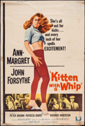"Movie Posters:Bad Girl, Kitten with a Whip & Other Lot (Universal, 1964). Posters (2)(40"" X 60"") Style Z. Bad Girl.. ... (Total: 2 Items)"