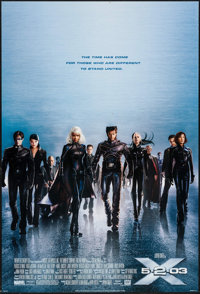 """X2 & Other Lot (20th Century Fox, 2003). One Sheets (2) (27"""" X 40"""") SS Advance. Science Fiction. ... (Tota..."""