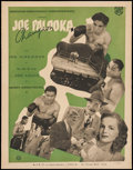 "Movie Posters:Sports, Joe Palooka, Champ (Monogram, 1946). French Program Poster (19"" X 24.25""). Sports.. ..."