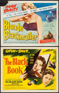 """Movie Posters:Adventure, Reign of Terror & Other Lot (Eagle Lion, 1949). Half Sheets (2)(22"""" X 28"""") Alternate Title: The Black Book. Adventure....(Total: 2 Items)"""