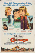 "Movie Posters:Adventure, In Search of the Castaways (Buena Vista, 1962). Poster (40"" X 60"").Adventure.. ..."