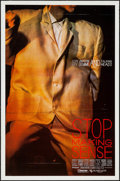 "Movie Posters:Rock and Roll, Stop Making Sense (Island Alive, 1984). One Sheet (27"" X 41""). Rock and Roll.. ..."