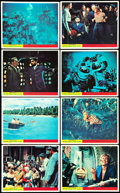 """Movie Posters:Science Fiction, 20,000 Leagues Under the Sea (Walt Disney Productions, 1954). British Front of the House Color Photo Set of 8 (8"""" X 10""""). Sc... (Total: 8 Items)"""