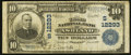 National Bank Notes:Kentucky, Ashland, KY - $10 1902 Plain Back Fr. 635 The Third NB Ch. #(S)12293. ...