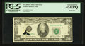 Error Notes:Printed Tears, Fr. 2074-B $20 1981A Federal Reserve Note. PCGS Extremely Fine45PPQ.. ...