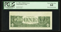 Error Notes:Obstruction Errors, Fr. 1907-J $1 1969D Federal Reserve Note. PCGS Very Choice New 64.....