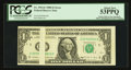 Fr. 1914-E $1 1988 Federal Reserve Note. PCGS About New 53PPQ