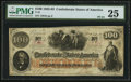 Confederate Notes:1862 Issues, T41 $100 1862 PF-24 Cr. 320C.. ...