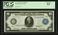 Fr. 930 $10 1914 Federal Reserve Note PCGS Choice New 63