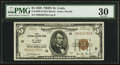 Small Size:Federal Reserve Bank Notes, Fr. 1850-H $5 1929 Federal Reserve Bank Note. PMG Very Fine 30.. ...