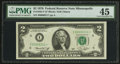 Small Size:Federal Reserve Notes, Fr. 1935-I* $2 1976 Federal Reserve Note. PMG Choice Extremely Fine 45.. ...