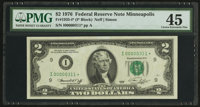 Fr. 1935-I* $2 1976 Federal Reserve Note. PMG Choice Extremely Fine 45