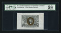 Fractional Currency:Second Issue, Fr. 1244SP 10¢ Second Issue Wide Margin Face PMG Choice About Unc 58.. ...