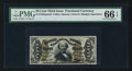 Fractional Currency:Third Issue, Fr. 1328SP 50¢ Third Issue Narrow Margin Spinner Face PMG Gem Uncirculated 66 EPQ.. ...