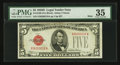 Small Size:Legal Tender Notes, Fr. 1529 $5 1928D Mule Legal Tender Note. PMG Choice Very Fine 35.. ...