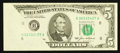 Error Notes:Foldovers, Fr. 1978-H $5 1985 Federal Reserve Note. Choice CrispUncirculated.. ...