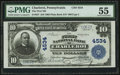 National Bank Notes:Pennsylvania, Charleroi, PA - $10 1902 Plain Back Fr. 627 The First NB Ch. # 4534. ...