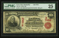 National Bank Notes:Kentucky, Cave City, KY - $10 1902 Red Seal Fr. 614 The H.Y. Davis NB Ch. #(S)7919. ...
