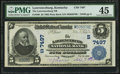National Bank Notes:Kentucky, Lawrenceburg, KY - $5 1902 Plain Back Fr. 598 The Lawrenceburg NBCh. # (S)7497. ...