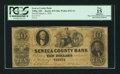 Obsoletes By State:Ohio, Tiffin, OH - Seneca County Bank $10 Mar. 1, 1855 G8a Wolka 2533-14....