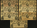 Confederate Notes:Group Lots, 1864 Confederate Issues.. ... (Total: 41 notes)