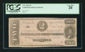 Confederate Notes:1863 Issues, Fully Framed T61 $2 1863.. ...