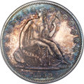 Proof Seated Half Dollars, 1859 50C PR64 PCGS. CAC....