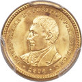 Commemorative Gold, 1904 G$1 Lewis and Clark Gold Dollar MS65+ PCGS....