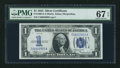 Small Size:Silver Certificates, Fr. 1606 $1 1934 Silver Certificate. PMG Superb Gem Unc 67 EPQ.. ...