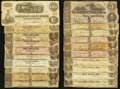 Confederate Notes:Group Lots, Small Treasure Trove of Confederate Currency.. ... (Total: 40notes)