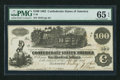 Confederate Notes:1862 Issues, T39 $100 1862 PF-5 Cr 291.. ...