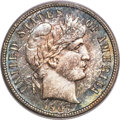 Barber Dimes, 1907-S 10C MS66 PCGS Secure. CAC....