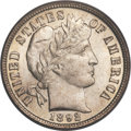 Barber Dimes, 1892-O 10C MS66+ PCGS Secure. CAC....