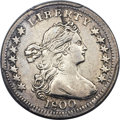 Early Half Dimes, 1800 H10C LIBEKTY, V-2, LM-3, R.4 -- Cleaning -- PCGS Genuine. AUDetails....