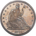 Proof Seated Half Dollars, 1865 50C PR64 PCGS. CAC....