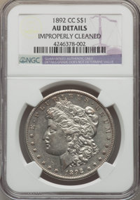 1892-CC $1 -- Improperly Cleaned -- NGC Details. AU. Mintage 1,352,000. ...(PCGS# 7214)