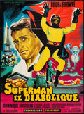 "Movie Posters:Science Fiction, Argoman the Fantastic Superman (Les Films Marbeuf, 1967). French Grande (45"" X 61.5""). Science Fiction.. ..."