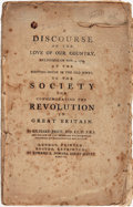 Books:World History, [Revolution of 1688]. Richard Price. A Discourse on the Love of Our Country, Delivered on Nov. 4, 1789, at the Meeting-H...